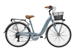 Bicicletta Donna Relax Cicli Adriatica Grigio metallizzato