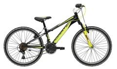 Mtb ragazzo 24'' Rock Cicli Adriatica nero/giallo