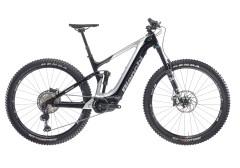 Bicicletta elettrica mtb full suspention t-tronik performer bianchi