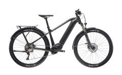 e-bike front suspention accessoriata t-tronik sport bianchi