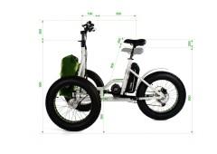 Triciclo elettrico fat trike 2.0 etnnic