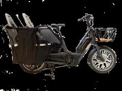 bici trasporto elettrica u-cargo family addbike