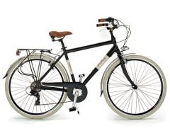 Bici Sport Uomo 28'' 605AL 6V -18V Alluminio Via Veneto