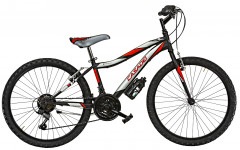 """Bici Ragazzo Vortex VX 24"""" Acciaio 18V Cicli Casadei"""