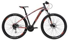mountain bike ammortizzata cicli adriatica wing rosso