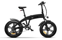 "Fat Bike Elettrica front Pieghevole Idesert -X5 20"" 7V Argento"